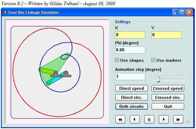 Interesting 4 Bar Linkage Simulation Artifact Dave S Blog