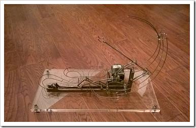 Mechanical Ball Lifter for Rolling Ball Sculpture
