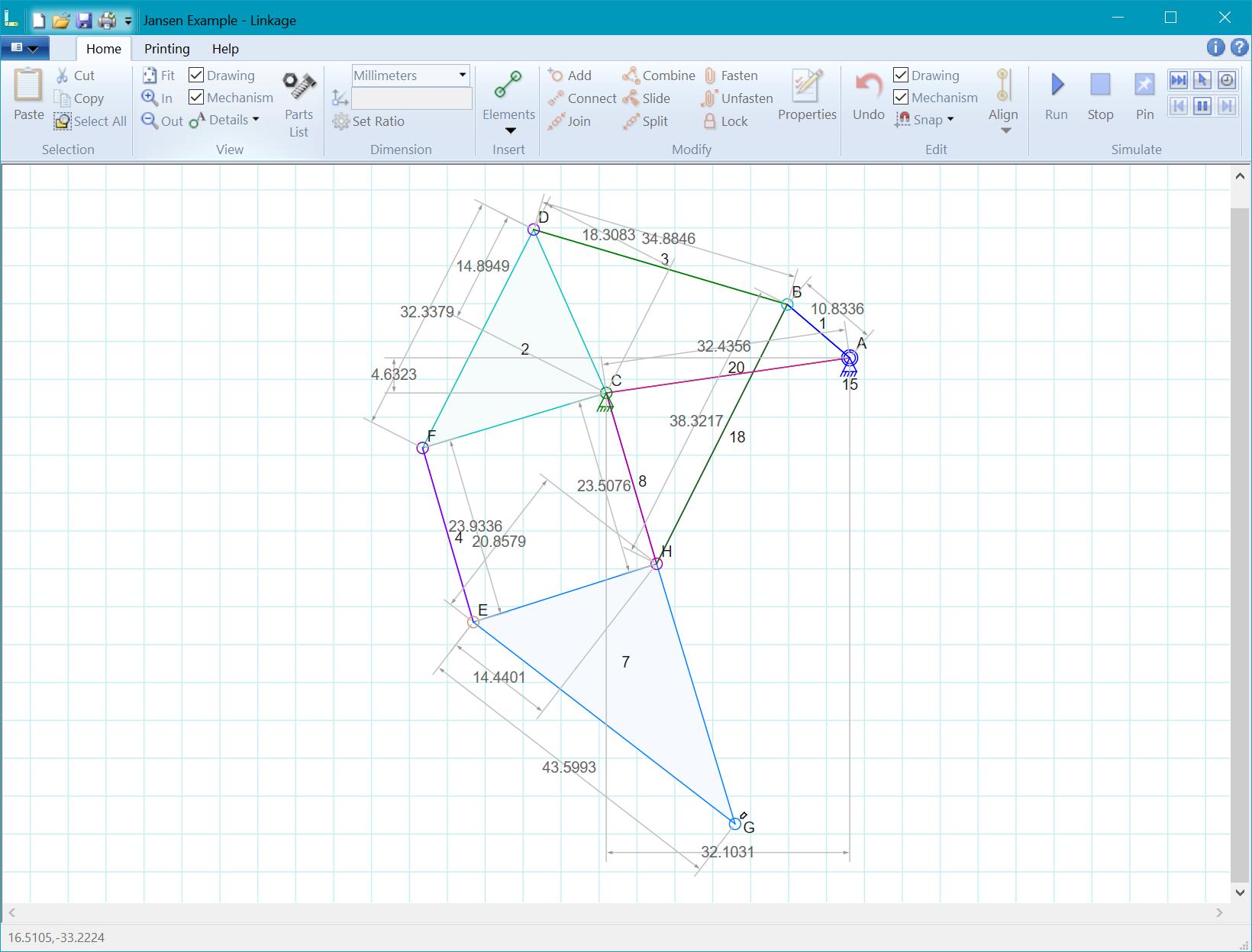 Linkage Mechanism Designer And Simulator Dave S Blog
