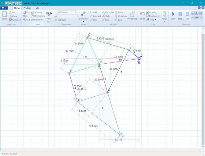 Linkage mechanism designer and simulator dave 39 s blog for Simple cad online