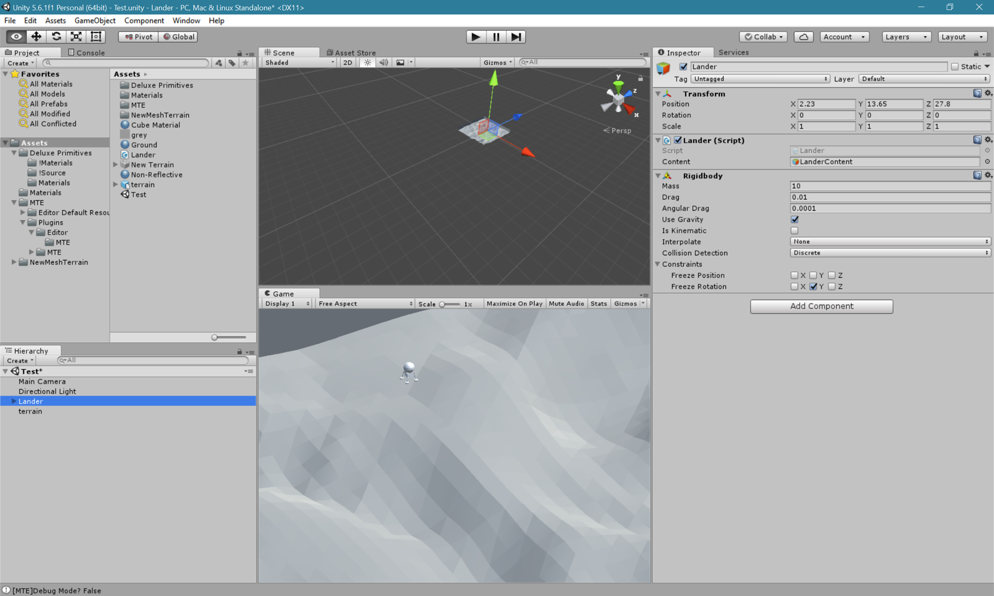 Writing a Unity Game   Dave's Blog